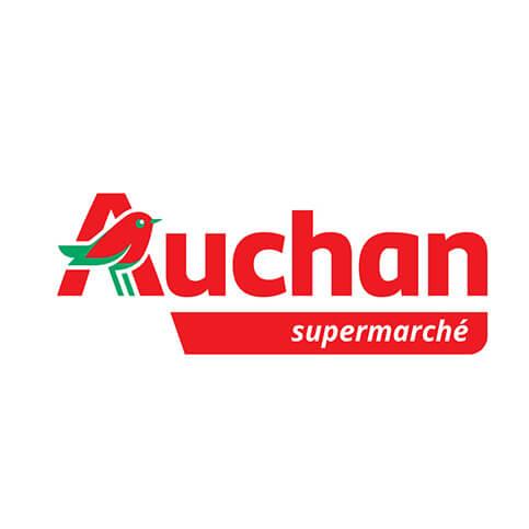 Auchan supermarché logo