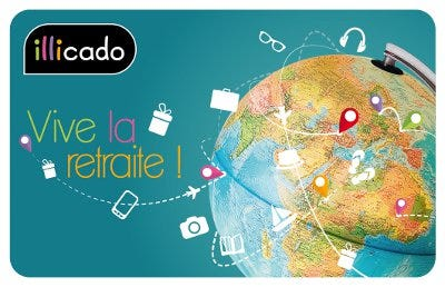 carte cadeau retraite photo globe