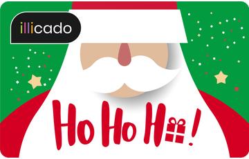 Carte cadeau Joyeux Noël pour enfants avec petits monstres